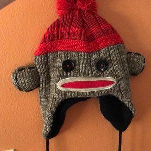 Accessories - Sock monkey beanie